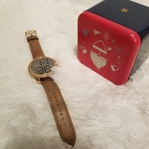 Fossil  Rose Tone Electro Tick Crystal Watch